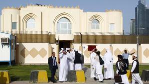 La sede della rappresentanza dei Talebani a Doha