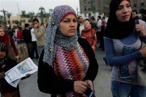 Samira Ibrahim, attivista egiziana per i diritti delle donne