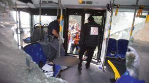 Gerusalemme, l'autobus colpito il 13 ottobre