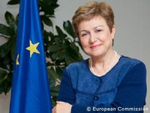 Kristalina Georgieva, vicepresidente commissione Ue