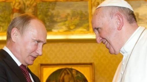 Vladimir Putin e papa Francesco