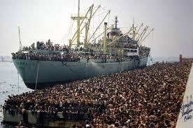 Lo sbarco degli albanesi in Puglia nel 1991